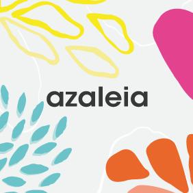 logo Azaleia colores