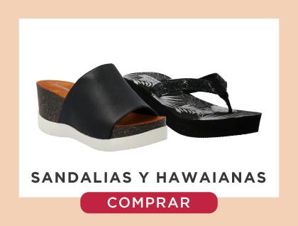 Sandalias y hawaianas